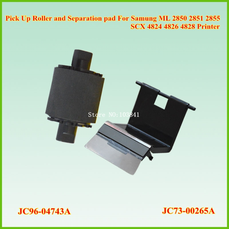 10.80$  Buy now - http://ali7ah.shopchina.info/go.php?t=32810176380 - JC96-04743A Separation pad Roller + JC73-00265A PickUP Roller for Samung 2850 2851 2855 4824 4826 4828 Printer Pick up Roller 10.80$ #buyininternet