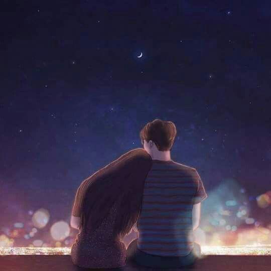 Boys Girls Anime Couples Sweet Kdrama Hug Enchanted Korean Relationship