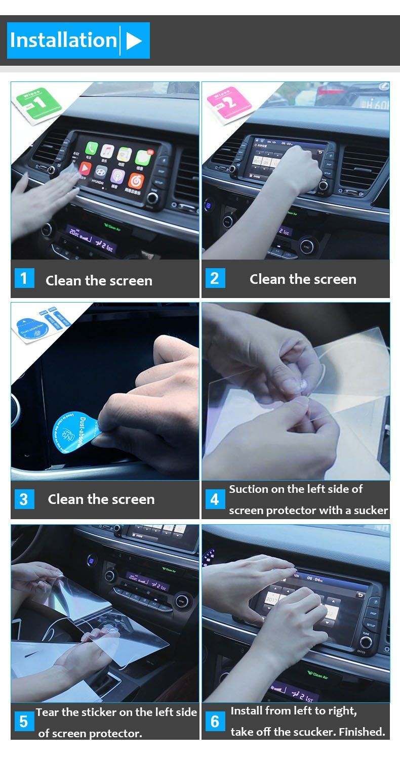 Amazon.com: TTCR-II for BMW X1 X3 X4 X5 X6 Z4 Series Navigation Display Screen Protector Foil, Anti-Explosion Touch Screen Protector Films[0.3mm,9H],Tempered Glass Console GPS Screen Protector[8.8 Rectangle]: Automotive #touchscreendisplay