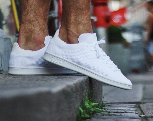 adidas stan smith triple white mens