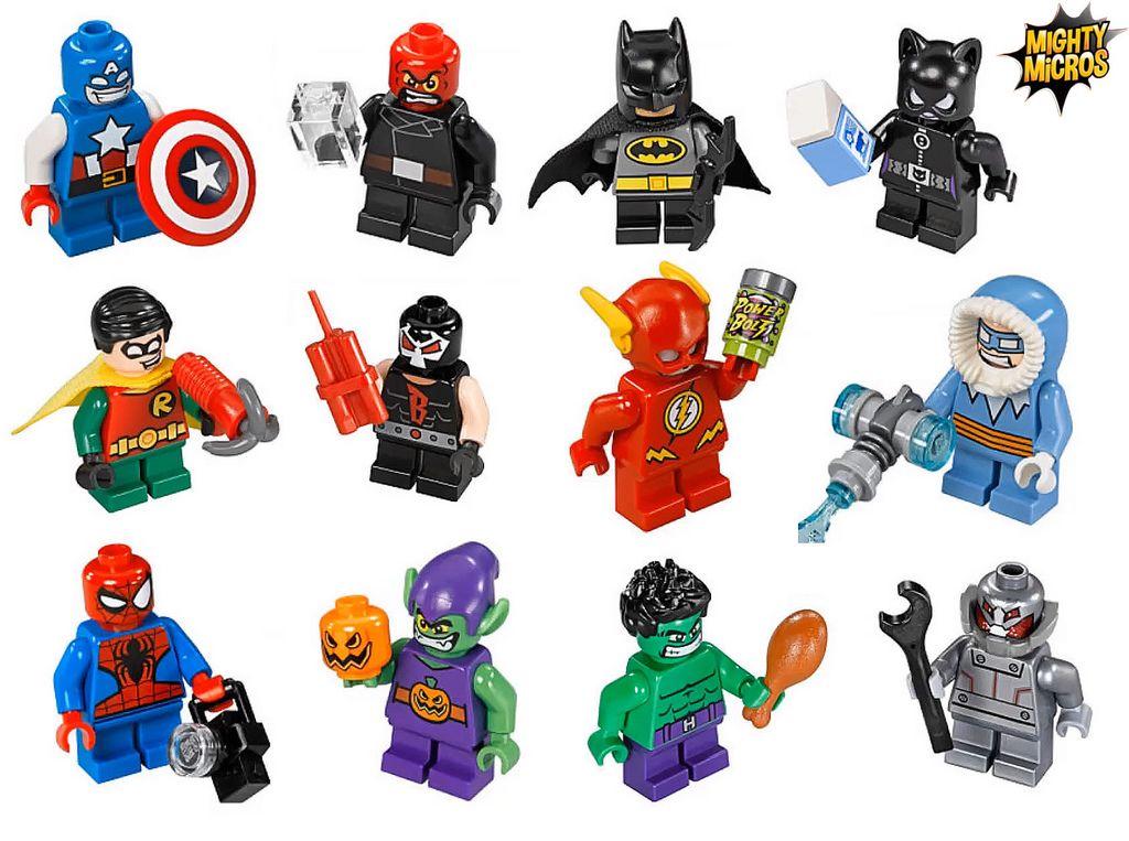Lego Spiderman Malvorlagen Star Wars 1 Lego Spiderman: LEGO Mighty Micros 2016 Minifigures (Marvel & DC Comics