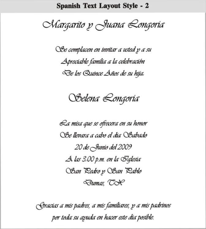 50th wedding anniversary invitation wording in spanish