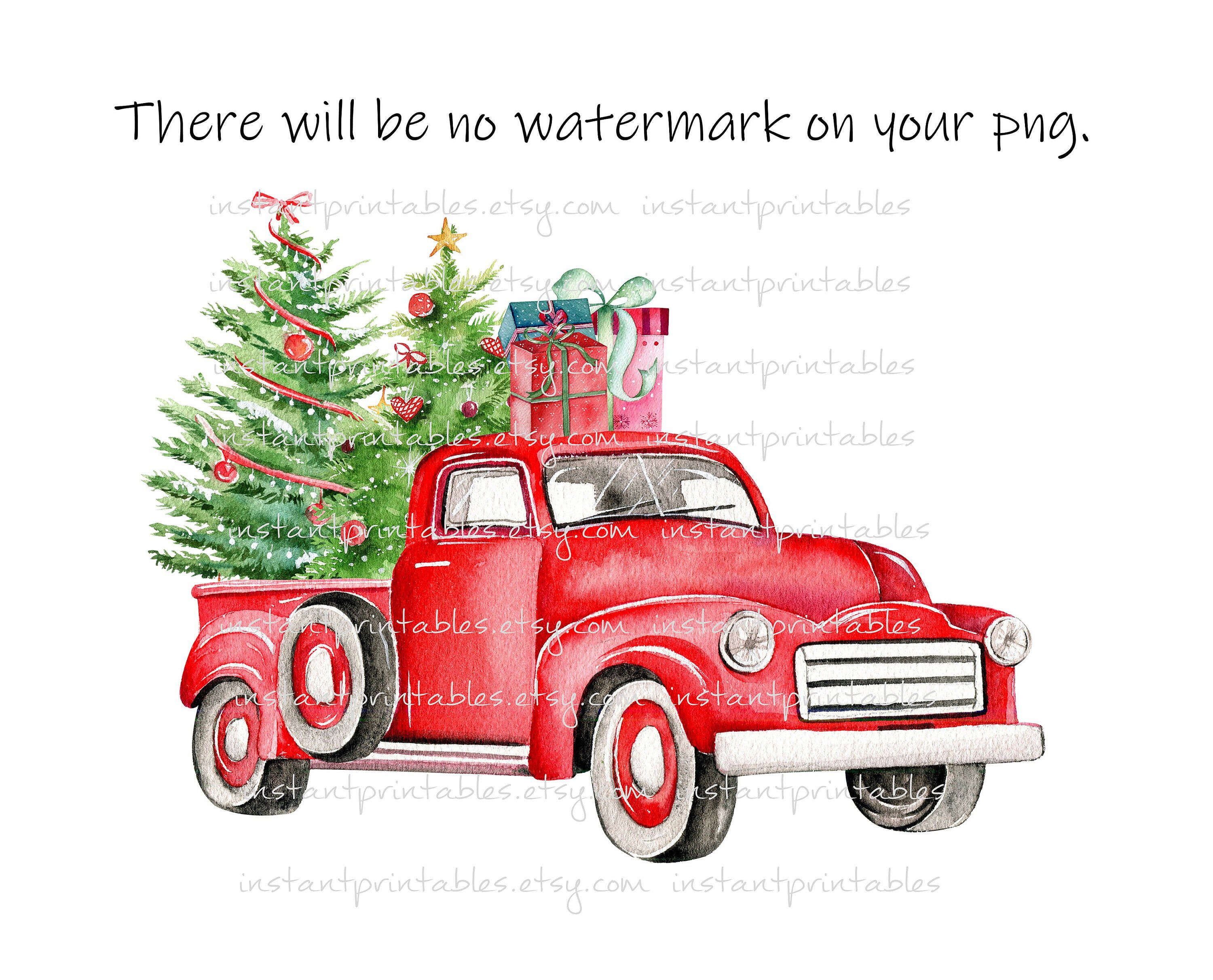 Sale Red Truck Png Christmas Truck Sublimation Iron On Etsy Christmas Red Truck Christmas Truck Buffalo Plaid Christmas