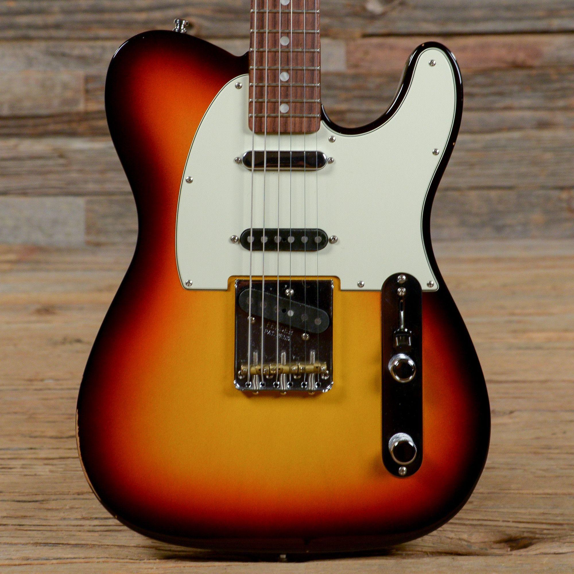 Fender American Vintage Hot Rod 60s Telecaster Sunburst USED s929