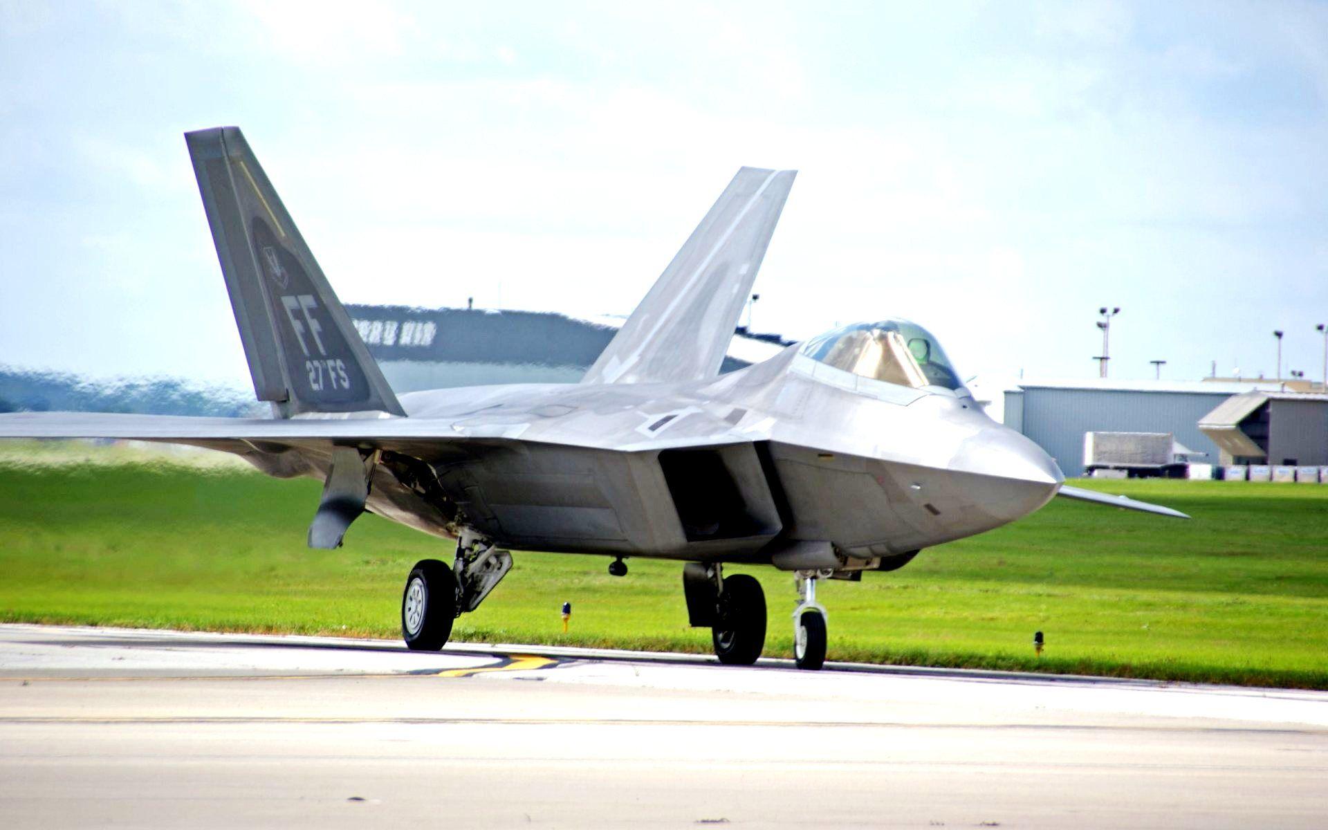 F22 Raptor Jets Hd Wallpaper Raptor Aircraft Hd Wallpaper