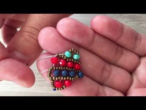 Bahar Modeli Bileklik (Kolye,Küpe) Yapımı (Varolan Bir Teknik Model Tasarımı Bana Ait) Easy Bracelet