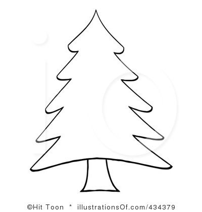 Christmas Tree Clip Art Black And White Besthomever Dccsqnl2 Jpg 400 420 Pixels Christmas Tree Clipart Christmas Tree Outline Christmas Tree Template
