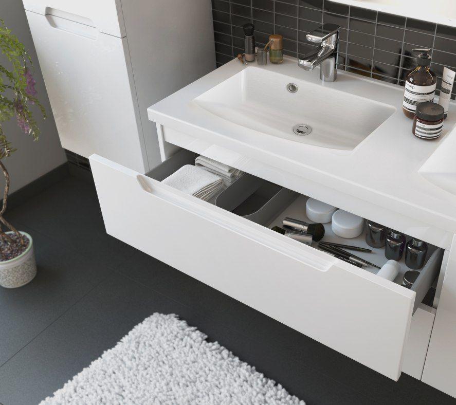 De Gens Surement Veulent Fixation Meuble Salle De Bain Avec Une Somptueux Sentiment Tandis Que Pas Limitant Salle Dans La Maison En Utili Home Decor Home Sink