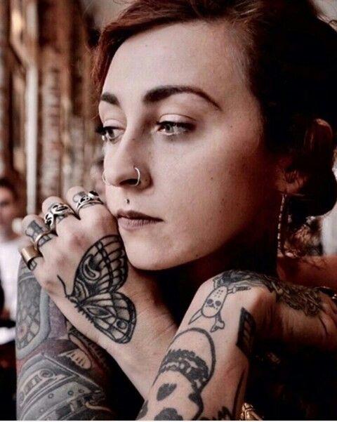Mariah Torres Tattoo Portrait Tattoo Pitbulls