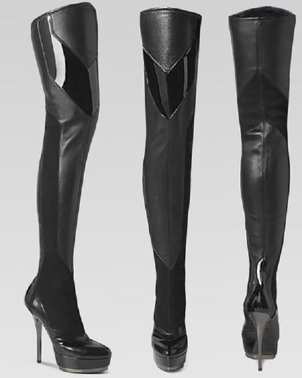 cb627252b0ed Gucci over the knee boots   follow group board Best Shoes