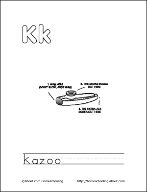 Letter Q Coloring Book Free Printable Pages Letter K Pinterest