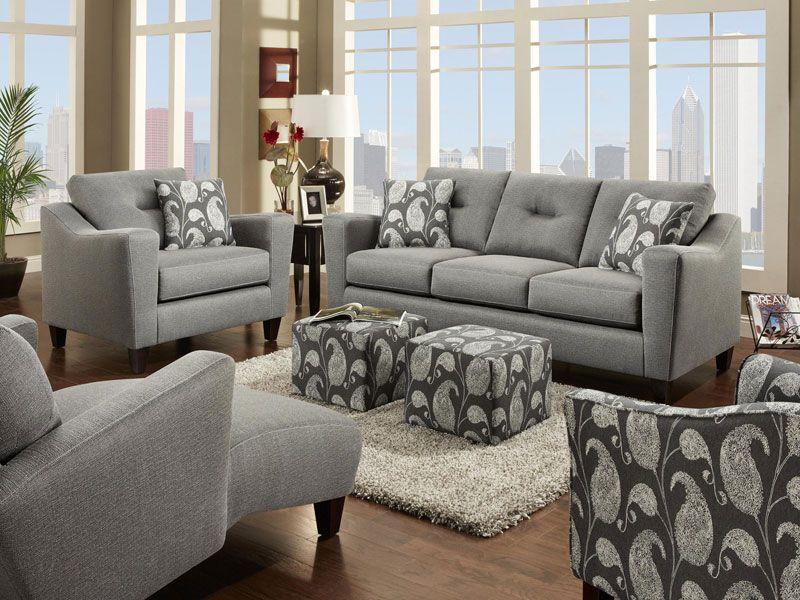 Fabric Sofas Fusion Furniture Furniture Living Room Sets