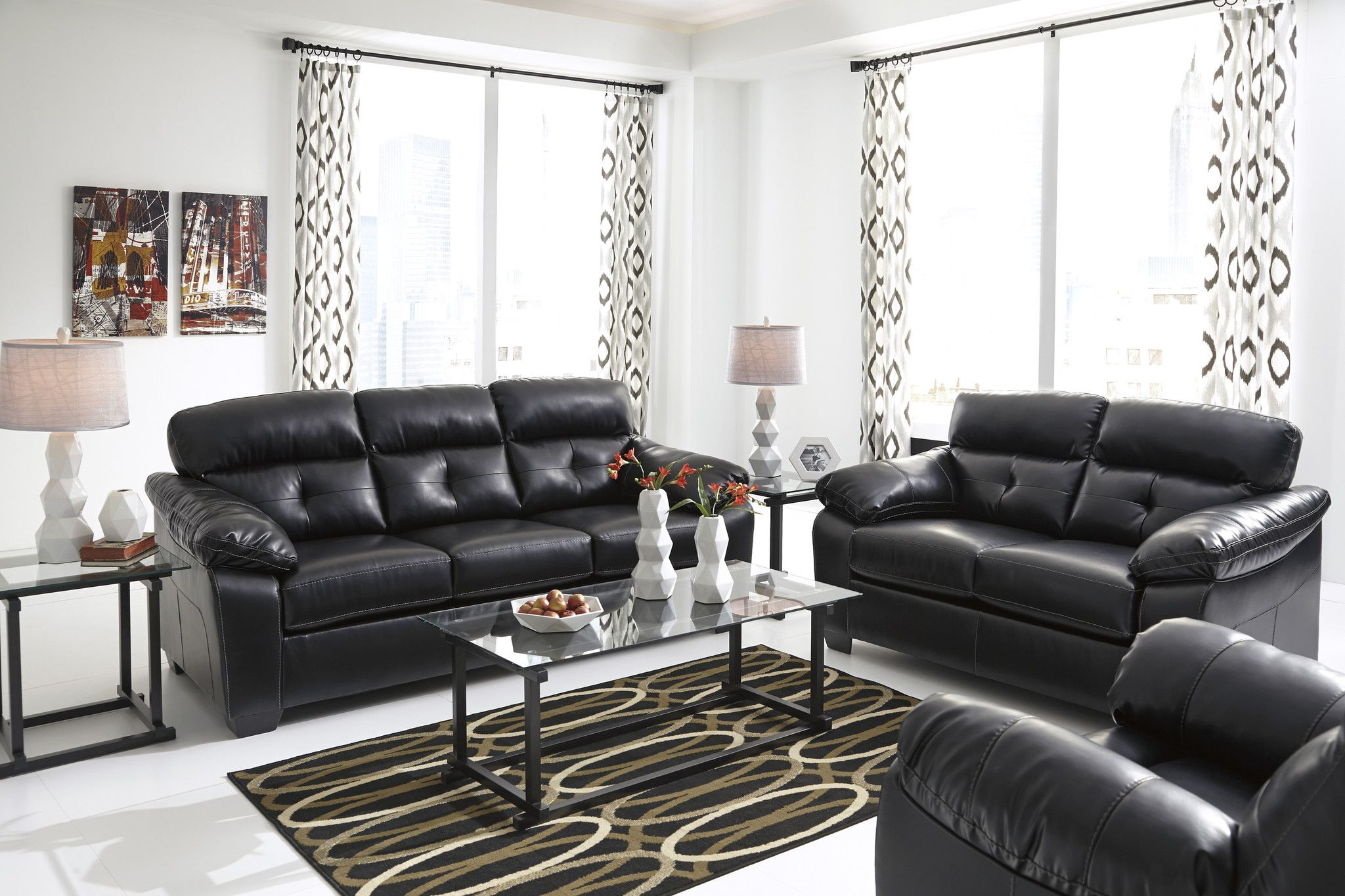 Julio - Sofa Loveseat Recliner Set 3pcs – Outfit My Home | Living ...