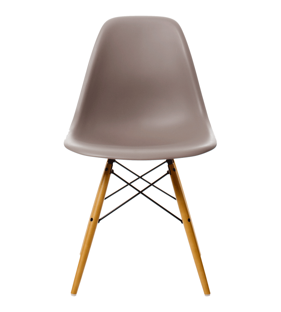 Eames Dsw Chair Mauve With Maple Base Furnish Eames Dsw Chair
