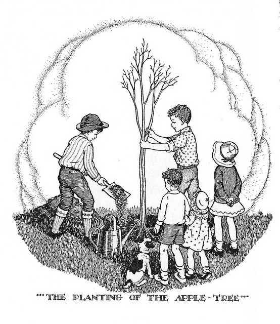 The Planting Of The Apple Tree
