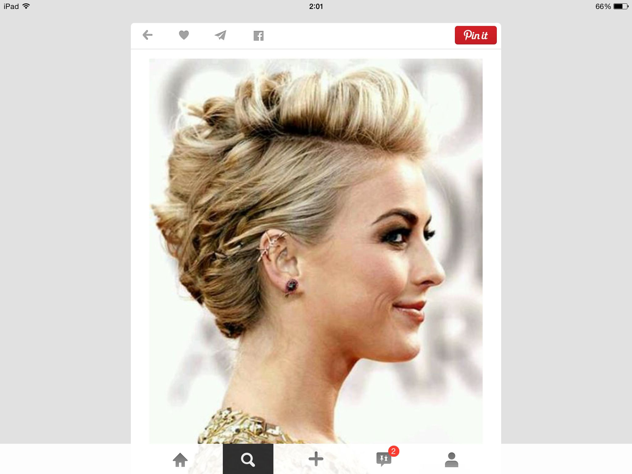 Pin by veronica carrizo on cosas pinterest short hair and hair style