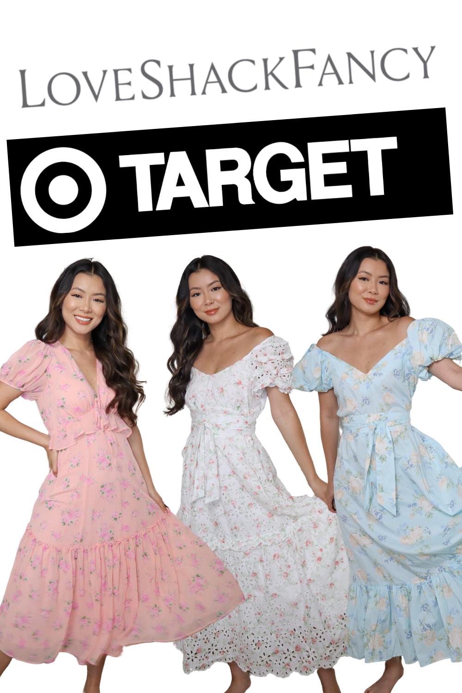 Loveshackfancy X Target Collab Try On Haul Target Dresses Favorite Dress Formal Dresses Long [ 1500 x 1000 Pixel ]