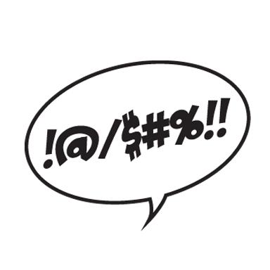 Bekannt Sticker Sticker bulle BD injures | Bd comics | Pinterest | Bulle  CH33