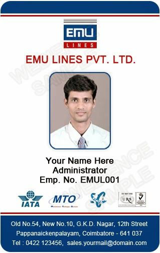 id card templates free