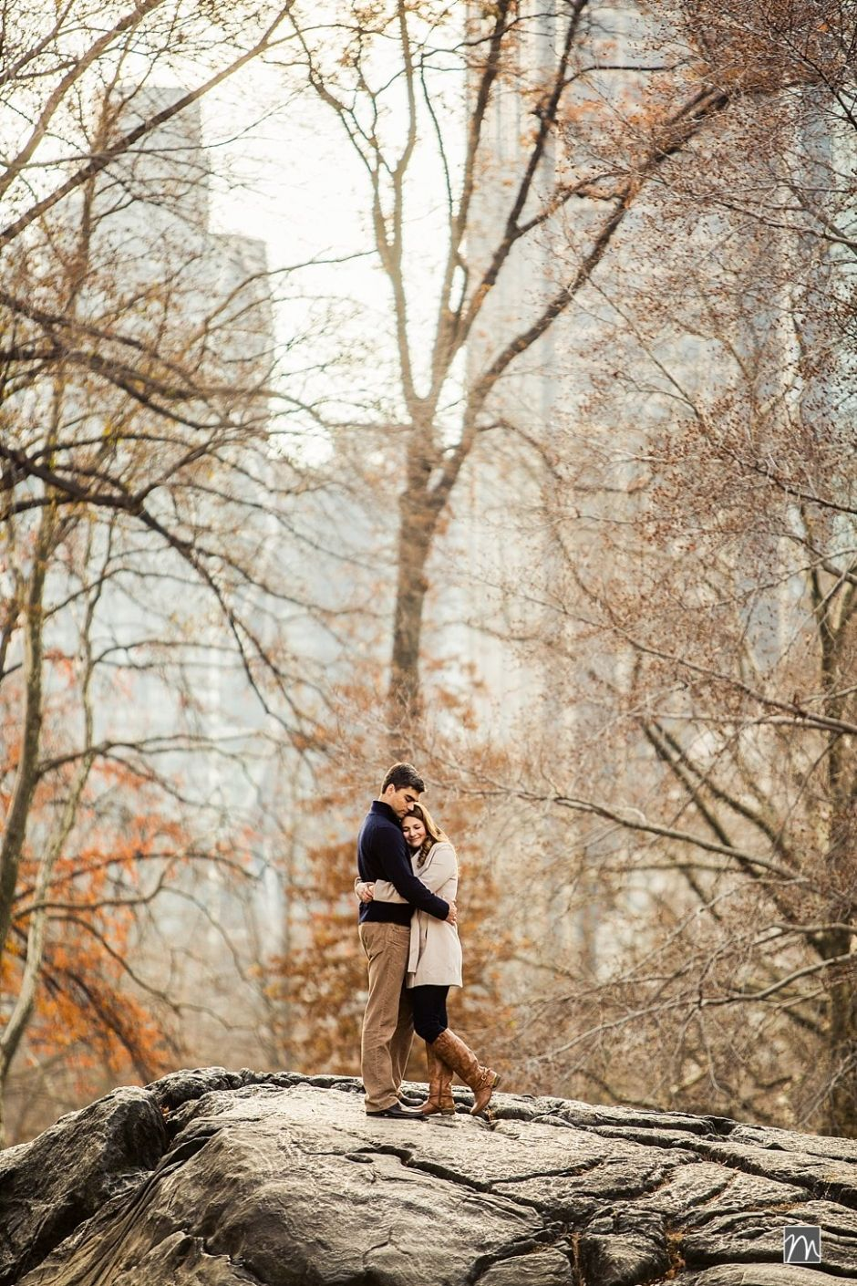 Central Park Wedding Photography: Fall Central Park Engagement Photos In New York @Mekyla