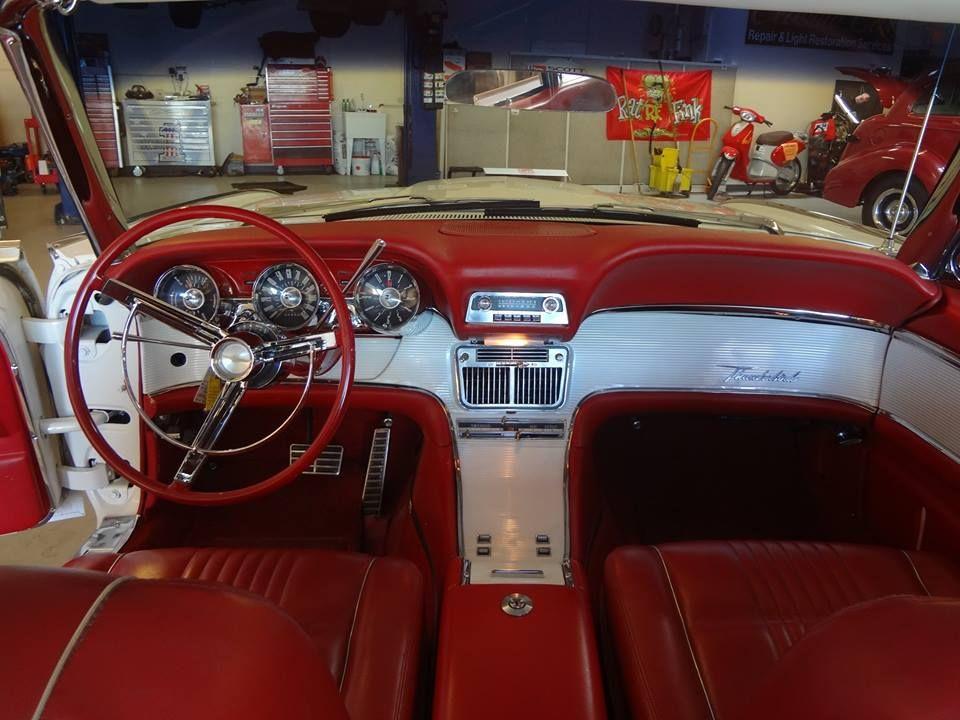 63 Thunderbird Interior With Images Thunderbird Car Car Ford