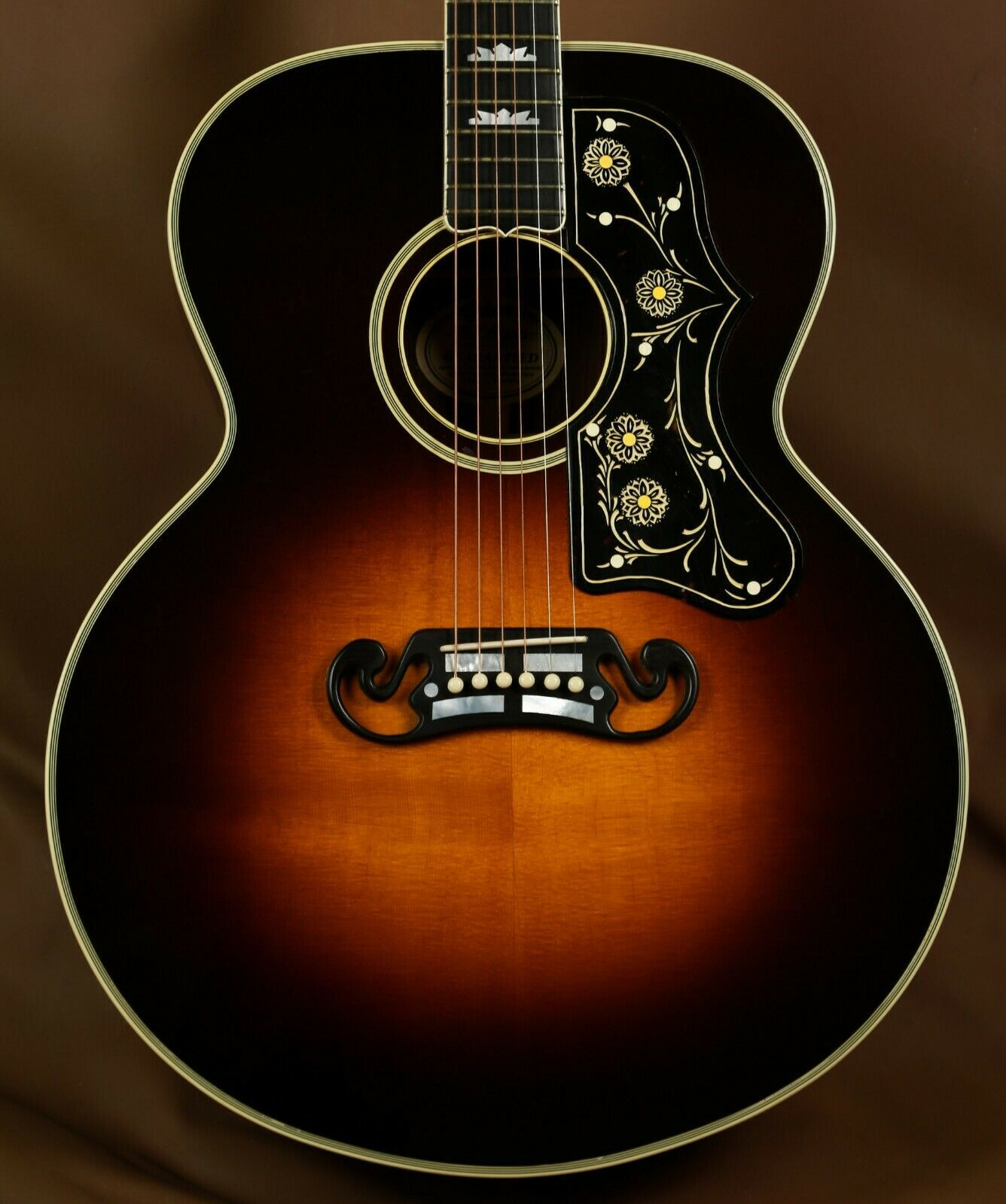 1992 Gibson Ren Ferguson 1938 Sj 200 Brazilian Custom Acoustic Guitar In 2020 Custom Acoustic Guitars Guitar Acoustic Guitar Prices