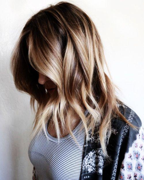Couleur cheveux tendance bronde