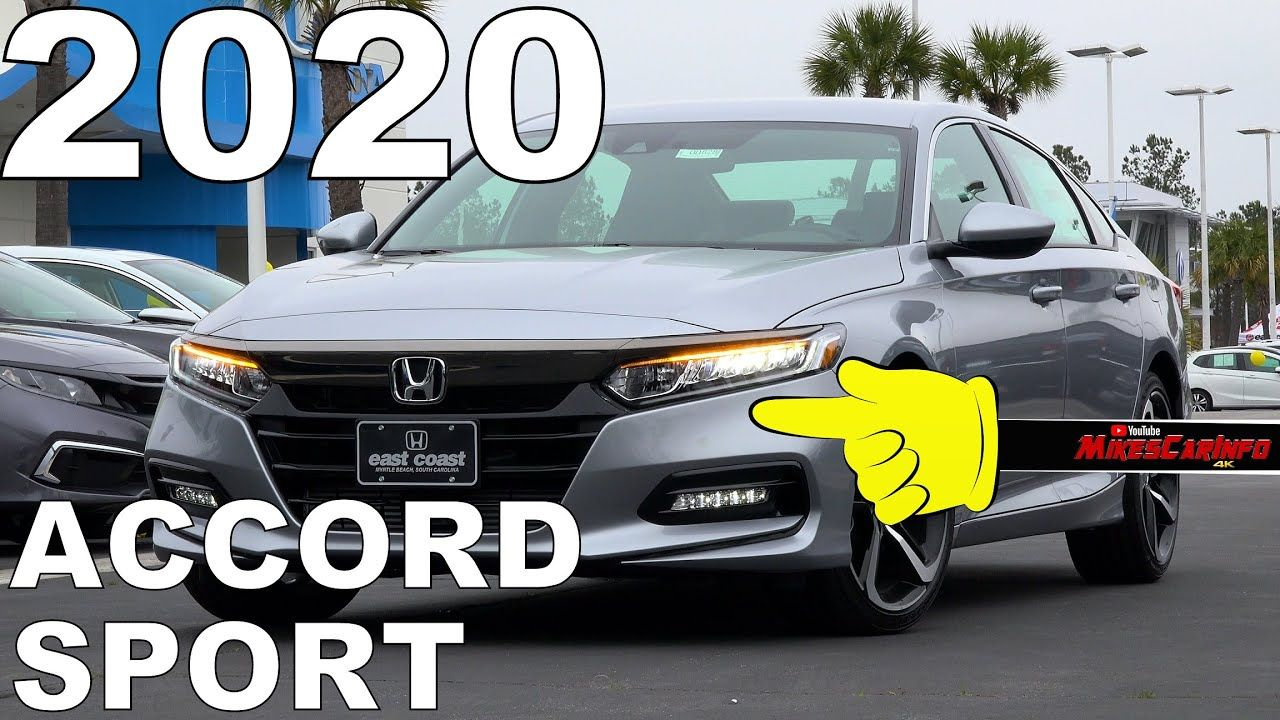 2020 Honda Accord Sport Ultimate InDepth Look in 4K in
