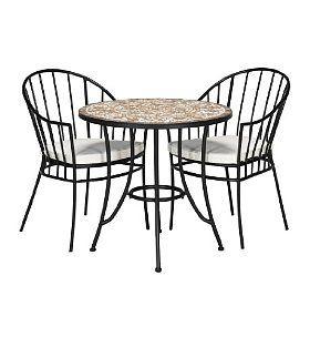 Romano Bistro Table & 2 Chairs Set