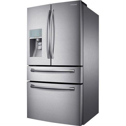Best Buy Samsung 30 5 Cu Ft 4 Door French Door Refrigerator With Sparkling Water Dispenser Stainless Steel Rf31fmesbsr French Door Refrigerator Fridge French Door Appliance Repair