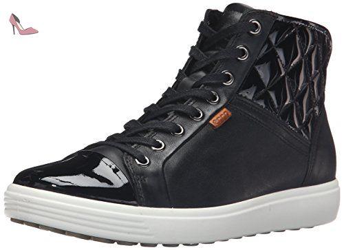 Ecco Fara, Sneakers Hautes Femme, Violet (MAUVE2276), 40 EU
