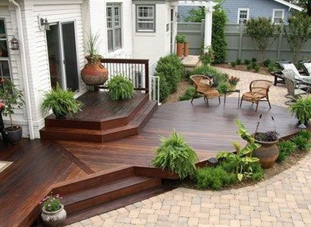 49 Fabulous Backyard Patio Deck Ideas Small Patio Design Patio