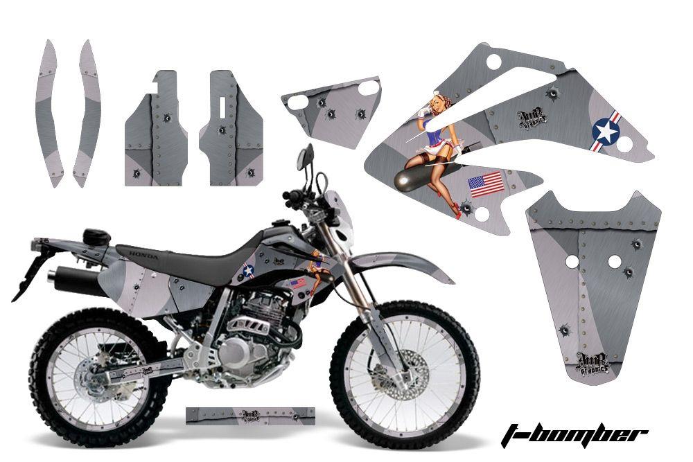 Honda XR250 SM Super Moto Graphics Kit 2003-2005 - Honda MX