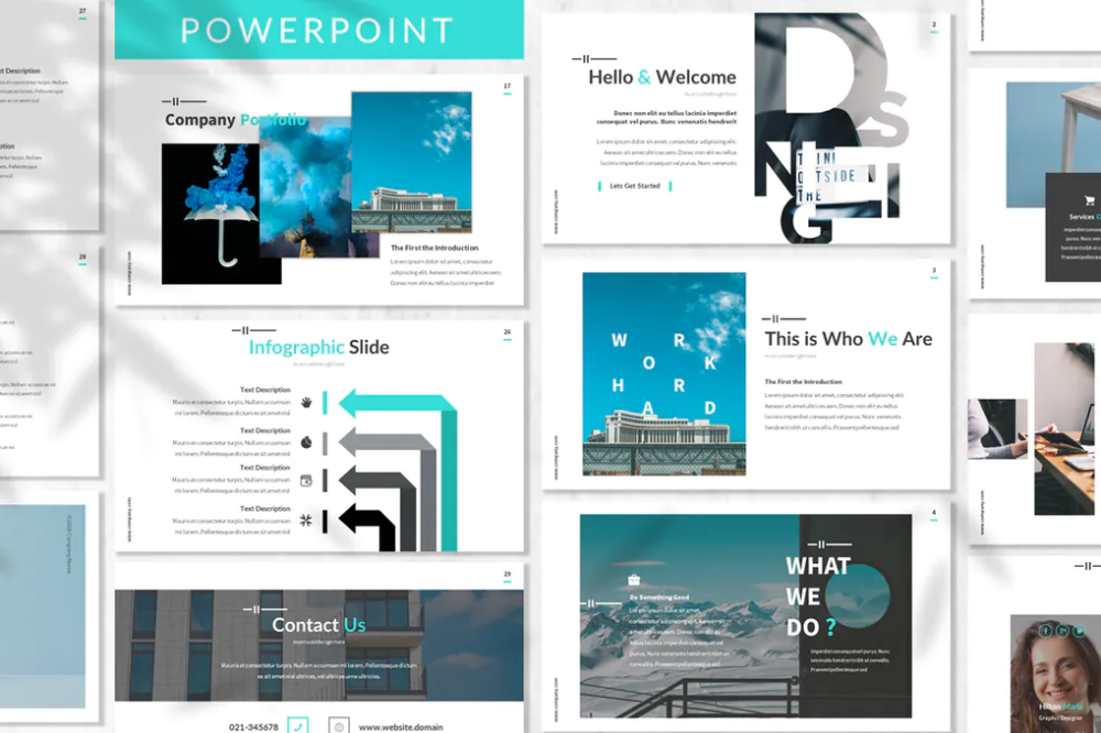 Serdana Business Powerpoint Template By Designesto On Envato Elements In 2020 Business Powerpoint Templates Business Presentation Templates Powerpoint Templates
