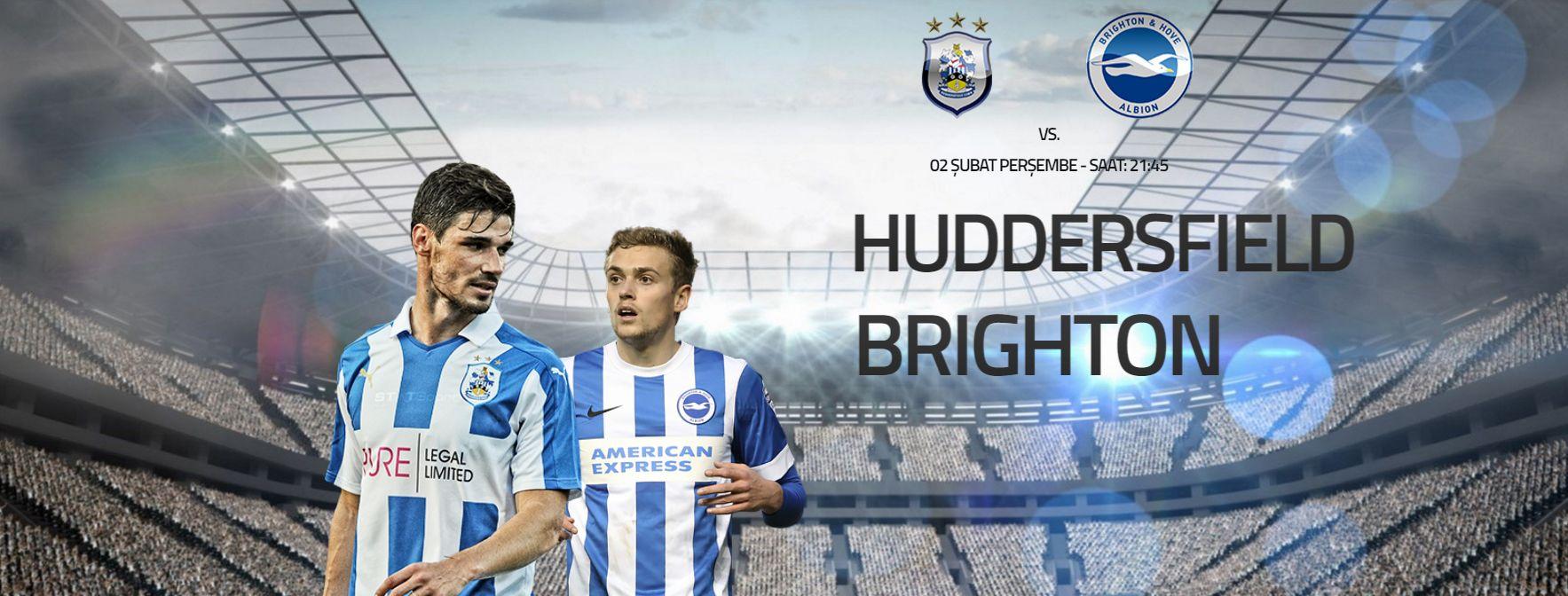 Huddersfield Town – Brighton Albion İngiltere #Championship'te lider #BrightonAlbion #PremierLig'e çıkabilmek için bu sezon büyük avantaj sahibi. Deplasmanda play offlara kalabilmek için mücadele veren #HuddersfieldTown ise bulunduğu yeri koruyabilmek adına son haftalarda iyi bir form grafiği yakalamış durumda. İki takım içinde zorlu geçecek bu mücadelede galip gelen kim olacak. #Bahis severler için #Enyüksekbahisoranları ve #Canlıbahis seçeneklerimiz #Betend'de sizlere. http://betend80.com