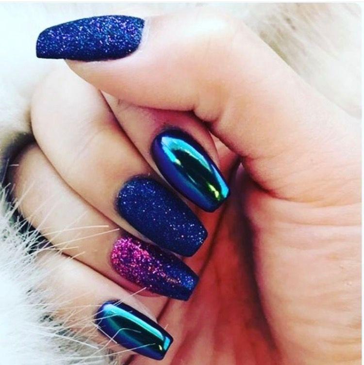 Galaxy Nails | ongles | Pinterest | Galaxy nail, Nail inspo and Nail ...
