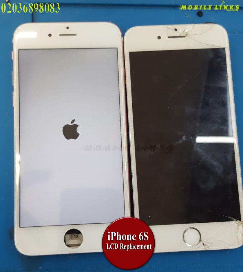 iPhone 6S Broken LCD/Display Instant Replacement Repair in