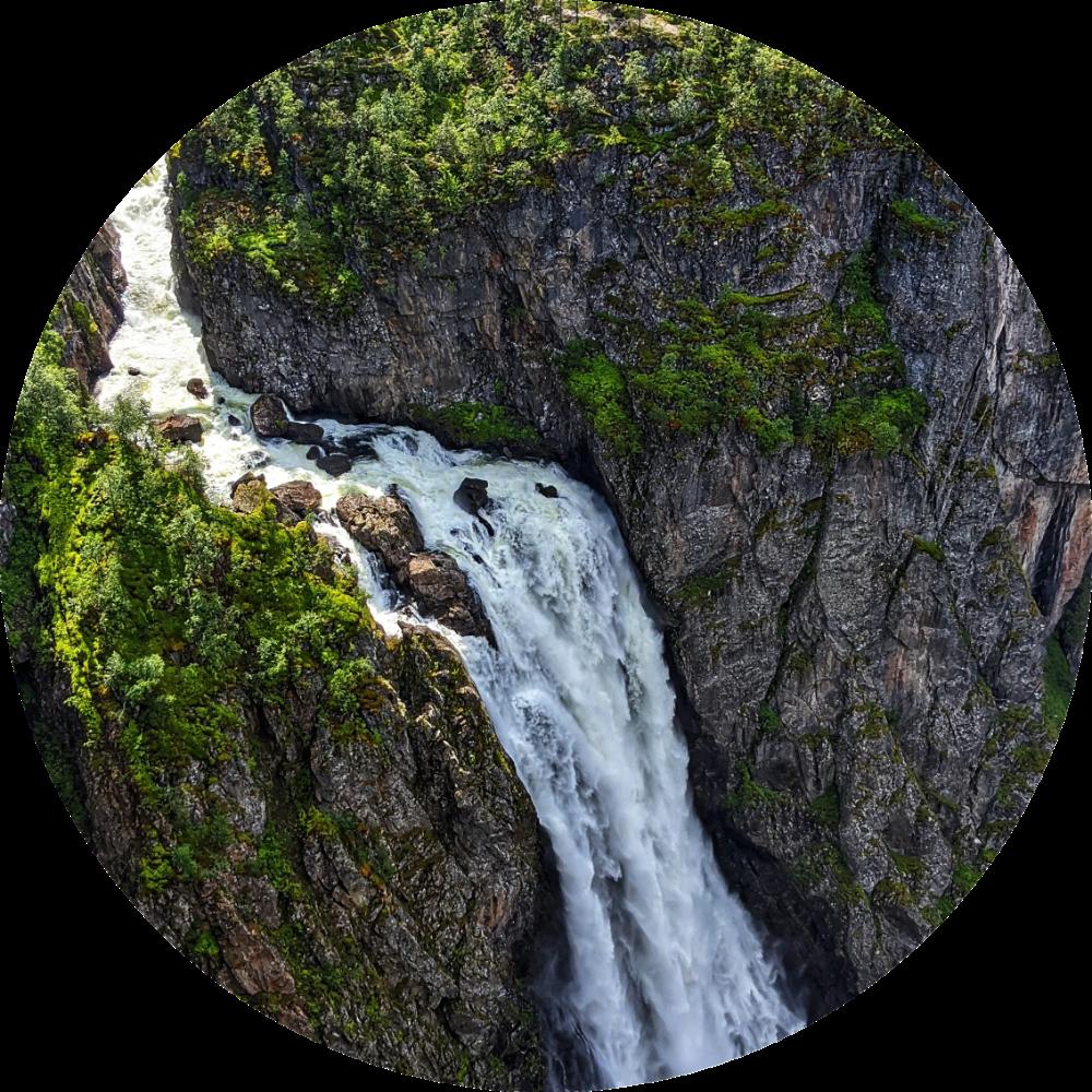 Voringsfossen Enjoy Alle Aktiviteter Pa Ett Sted I 2020 Sommertid Norge Kort