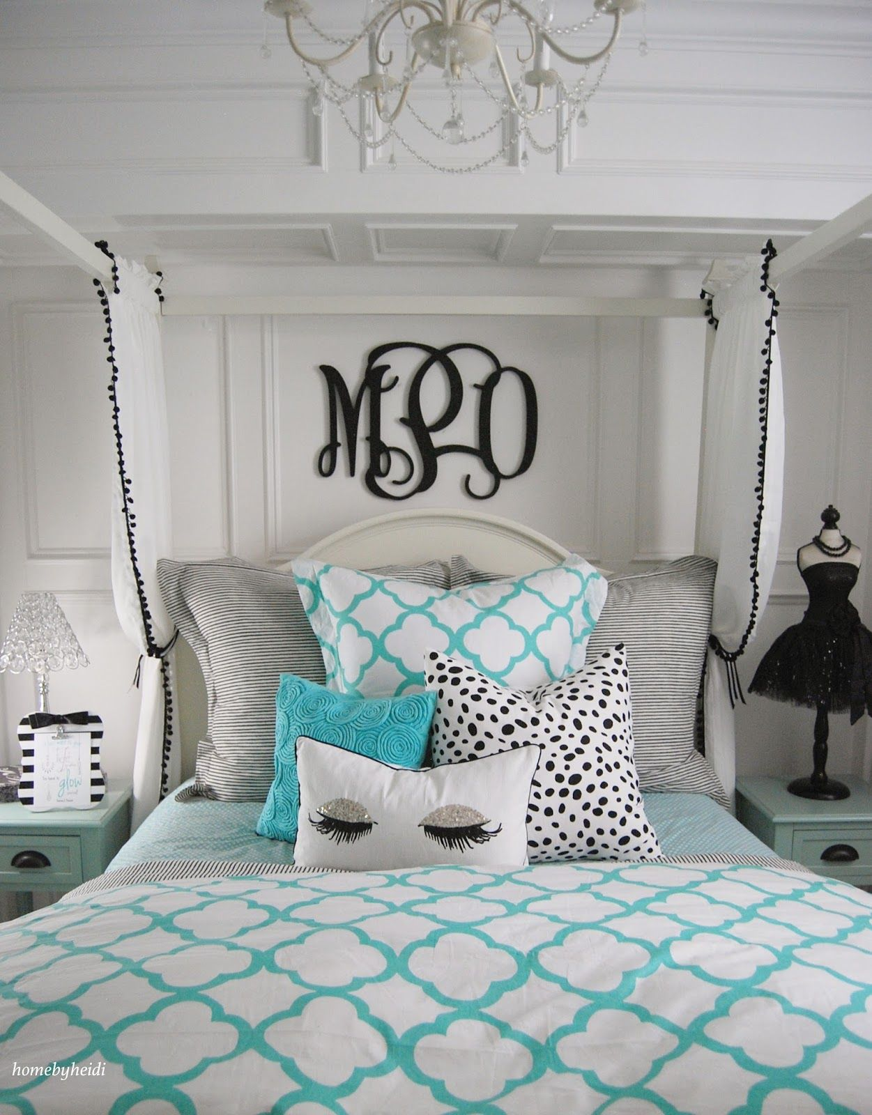 Teen Girl Room Design: What Is More Glamorous Than A Blue Box From Tiffany's