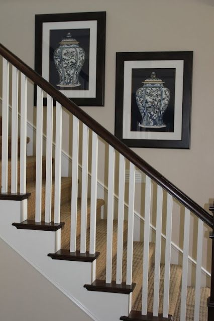 Modern Stair Railing Jackie Show This To Ollie For Your Stairs - Contemporary stair railing banister
