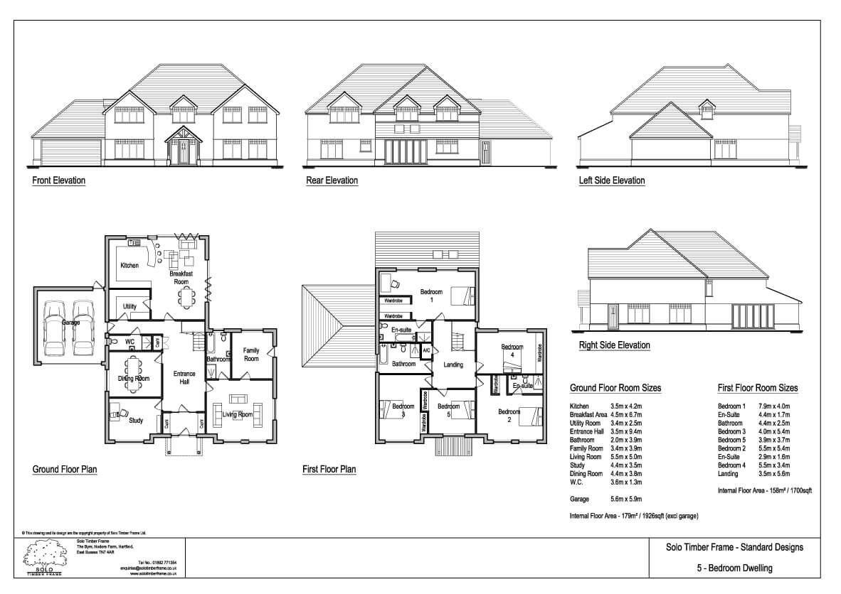 floor plans for new houses 5 bedrooms. Lintons 5 Bedroom House Design  New self build home designs floor plans plots Pinterest Bedrooms and
