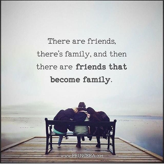 Friends that become family.. | Friends like family quotes ...