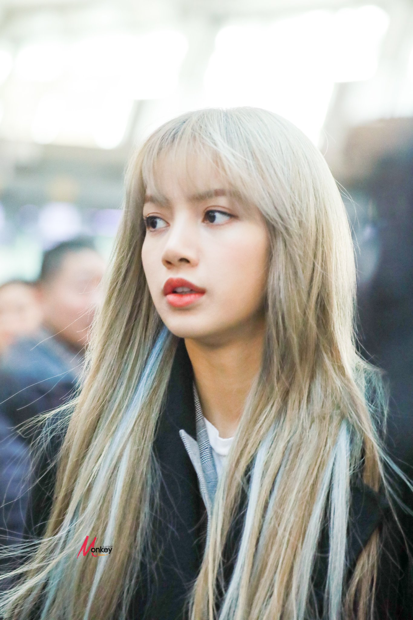 Pin By Wing On Jennie Lalisa Jisoo Rose In 2020 Blackpink Fashion Blonde With Pink Hair Color Names