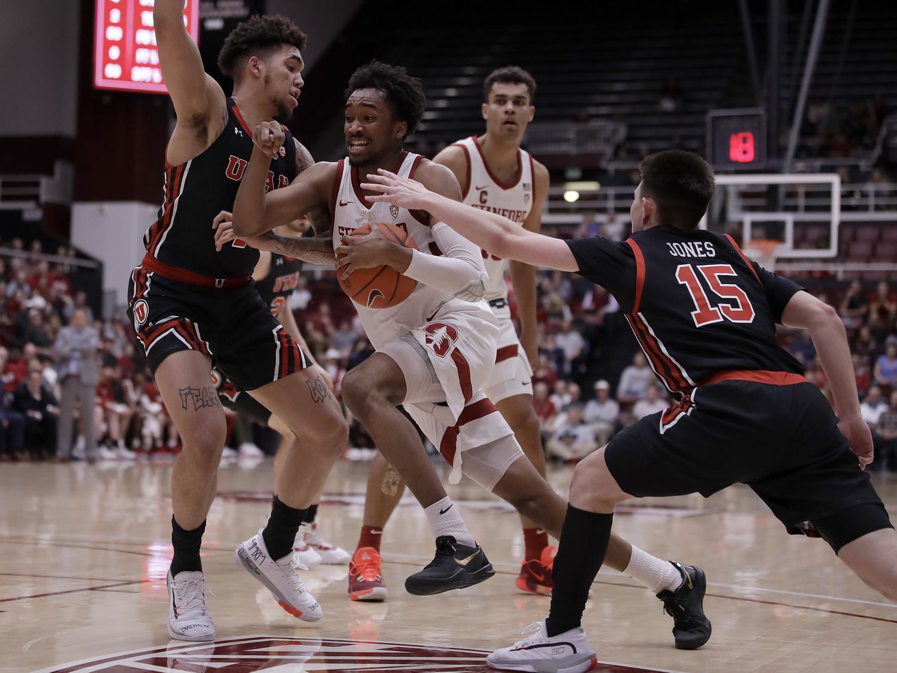 3 Takeaways From The Utah Utes 70 62 Loss To The Stanford Cardinal In 2020 College Basketball Game Stanford Cardinal Utah Utes