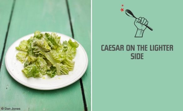 Caesar On The Lighter Side By Jamie Oliver This Is Tasty And