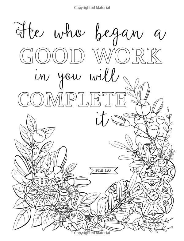 Promises of God Bible Verses to Color (Coloring Quotes
