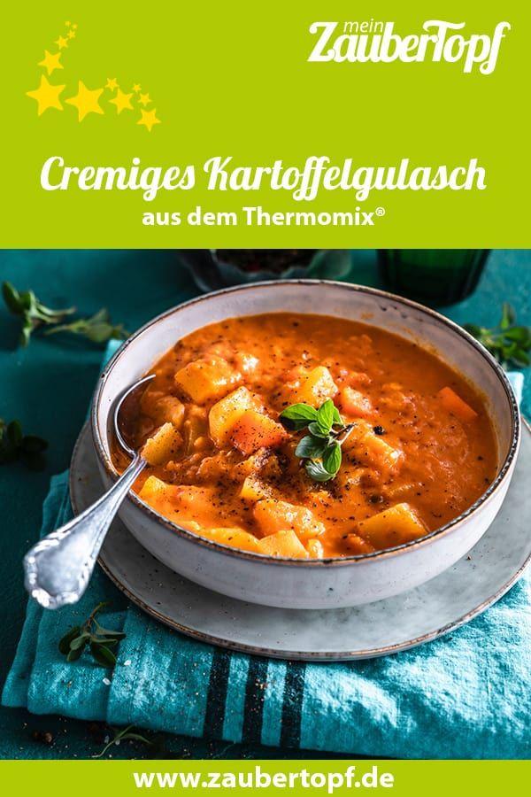 Kartoffelgulasch für Veggie-Fans – Rezept für den Thermomix