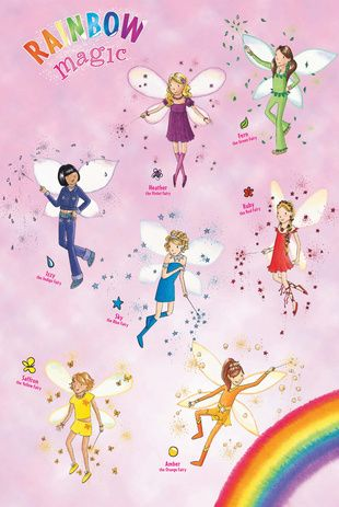 rainbow magic poster party inspiration rainbow magic fairy in 2019 rainbow magic fairies. Black Bedroom Furniture Sets. Home Design Ideas