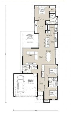 The Avalon | Narrow Block Plan | Home Builder in Perth | Switch ...