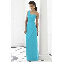 Nu-Georgette Turquoise Blue Bridesmaid Dresses TET266 - $107.00